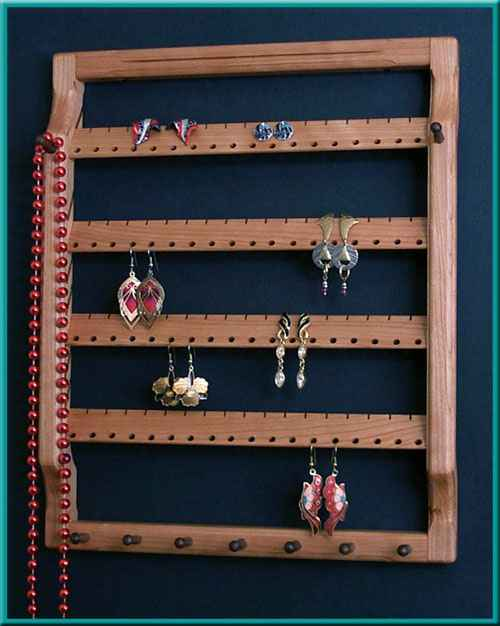4-Tier Earring Holder Close-Up