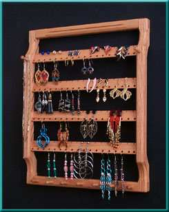 Earring Holder with 4 Racks