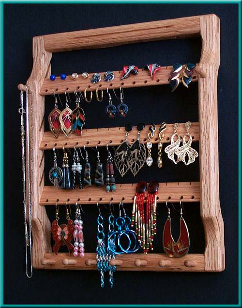 3-Tier Earring Holder Close-Up