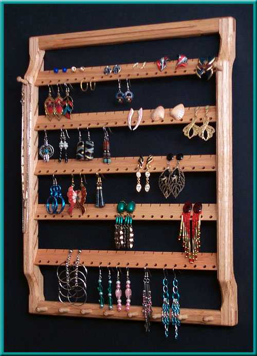 5-Tier Earring Holder Close-Up